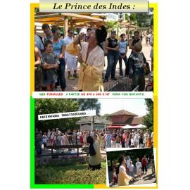 LE PRINCE DES INDES ET SES SERPENTS