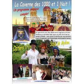 LA CAVERNE DES 1001 NUITS
