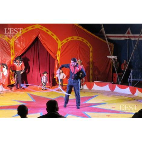 Numéro de cirque avec Lasso
