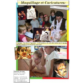 ATELIER MAQUILLAGE OU CARICATURE