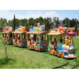 Location mini train Enfants lyon - Petit train sur Rails - Animation petit train