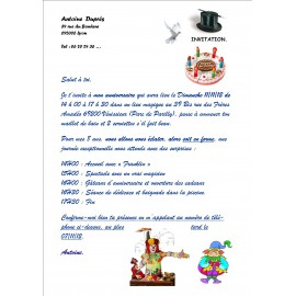 INVITATIONS … …