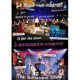 MUSIC HALL  ITINERANT (version Eco)