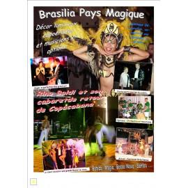 Affichette du spectacle BRASILIA PAYS MAGIQUE