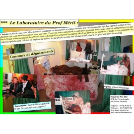 LABORATOIRE DU PROFESSEUR MERIL