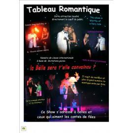 Rino Baldi et Roxanne Miss Lyon Show romantique