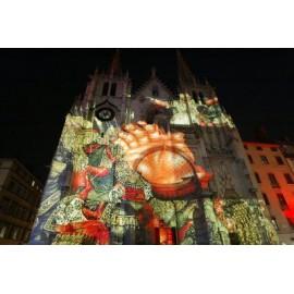 Habillage de mur et façade Vidéo mapping