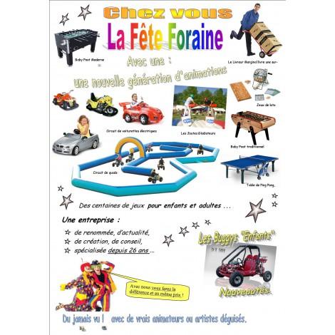 Location de jeux et stands de fête foraine à Lyon