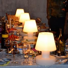 CENTRES DE TABLES LUMINEUX A LEDS
