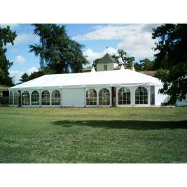 Location tente de Reception-5 m X 10 m Lyon
