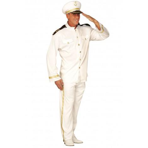 Déguisement Homme Capitaine de Bateau - Amirale - Officier