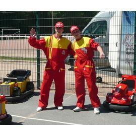 Location déguisement mécano automobile Lyon Tenu de mécanicien - Sport automobile - Déguisement pilote - Formule 1