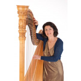 Musicien de type harpiste