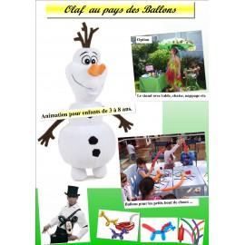 OLAF AU PAYS DES BALLONS