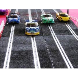 Location CIRCUIT SLOT RACING 4 PISTES Lyon voiture télécomandées Circuit 24