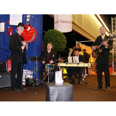 Orchestre Jazz lyon - Groupe musiciens Jazz - Animation musicale Jazz à Lyon