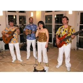 Orchestre Latino Brésilien - Chanteuse Brésilienne