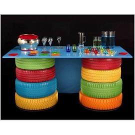 TABLES DE BUFFET FUN