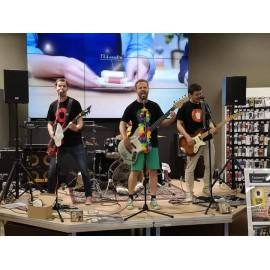 Les Fast and Furious groupe pop punk, un concentre de rock et d'humour !