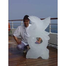 Sculpteur de glace