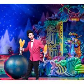 Artiste jongleur et équilibriste