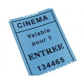 PLACES DE CINEMA*