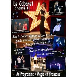 Affiche du spectacle le Cabaret Chanté 2