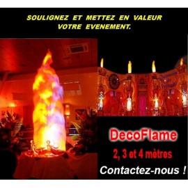 Décoration Flammes Lyon