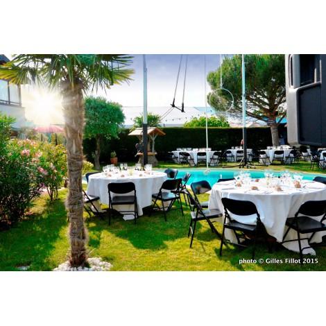 L'ile enchantée lieu de réception en plein air à Vénissieux