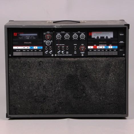 sono-portable-Philips-D-6650-Studio-double-tape-cassette-lyon