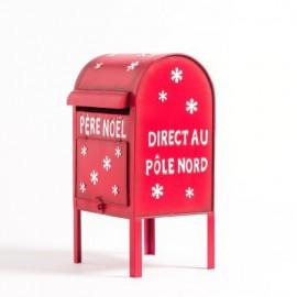 Boite à lettre du Père Noël location décoration de Noël à Lyon