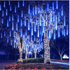 Stalactites lumineux LED effet chute de neige 50 CM