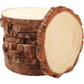 Rondins de bois pour décoration