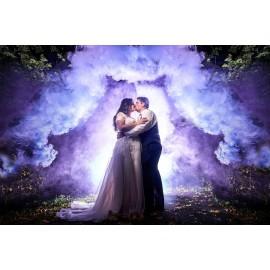 Fumigène et fumée coloré pour mariage