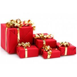 Cadeaux factice décoration Noël
