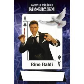 Affiche du Magicien Rino Baldi à 53 ans