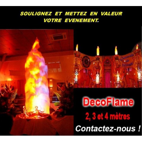 Location Machine à Flammes lyon