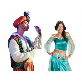 Jasmine ou Aladin et Louane le serpent