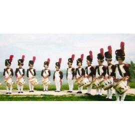 Orchestre de tambours à l'ancienne