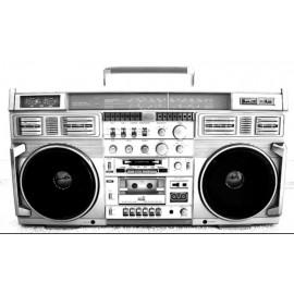 Disparition d'un gros poste Radio des Année 80