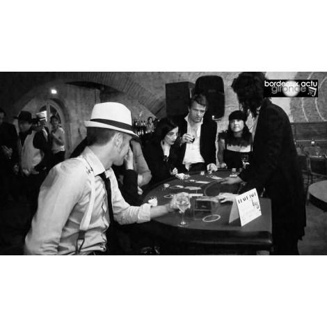 Soirée Casino thème 1920 Prohibition lyon