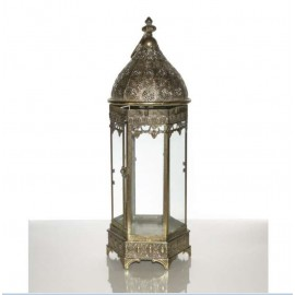 Location Lanterne chandelier orientale OR 60 cm et 40 cm Lyon
