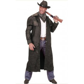 Manteau long Marron Western Cow Boy