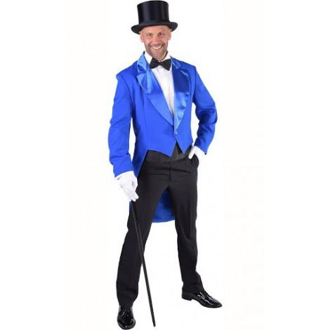 location-déguisement-veste-queue-de-pie-bleu-pailleté-pour-homme-lyon