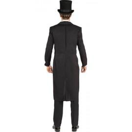Location Costume Queue de Pie noire Homme de dos