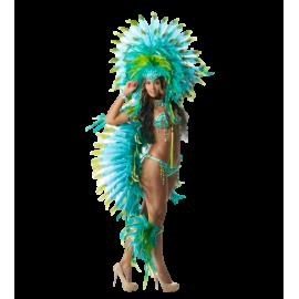 Location costume et déguisement Brésilien Carnaval plumes paillettes Lyon