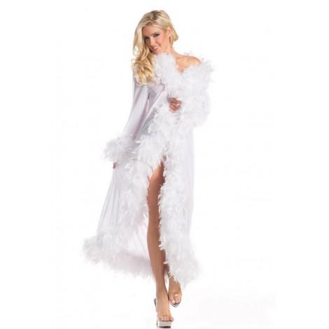 Location-nuisette-blanches-transparente-manches-longues-plumes-aux-extremites-lyon