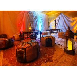 Tente Caïdale entièrement décorée