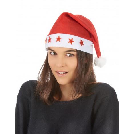 location-bonnet-lumineux-adulte-pere-noel-etoiles-rouges-lyon