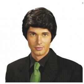 location-perruque brune homme avec raie à gauche lyon